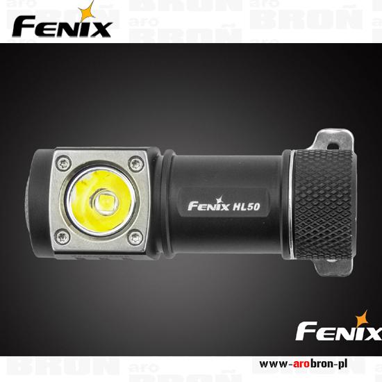 Latarka czołowa diodowa FENIX HL50 365 lumenów