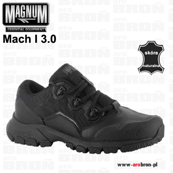 fe0c11ca Buty niskie taktyczne MAGNUM Mach I 3.0 ASTM - połówki, czarne, dla służb  mundurowych