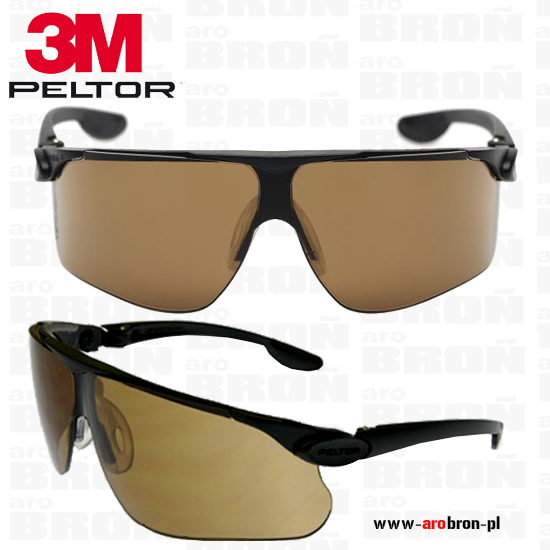 b59219c0b2ac05 Okulary ochronne Peltor Maxim Ballistic BRĄZOWE balistyczne strzeleckie  Norma wojskowa: MIL-STD 662